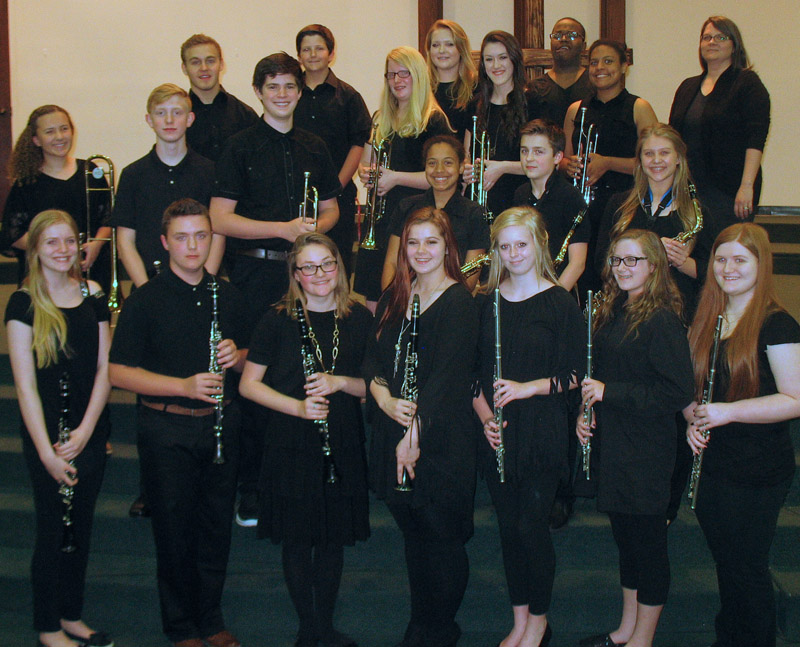 Advanced Band - Northeast Baptist School, West Monroe, LA