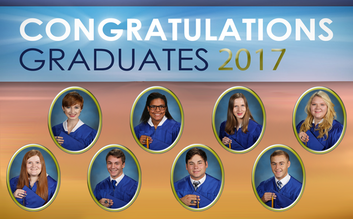 NBS Graduates 2017 | Northeast Baptist School, West Monroe, LA